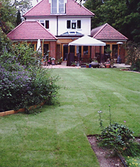 Landscaped garden in Croydon